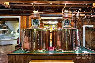 Photograph - Kentucky Bourbon Pot Stills by Mel Steinhauer