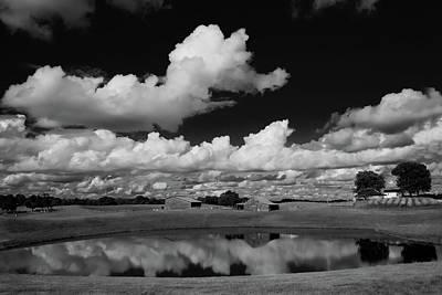 Kentucky Clouds Art Print by Keith Bridgman