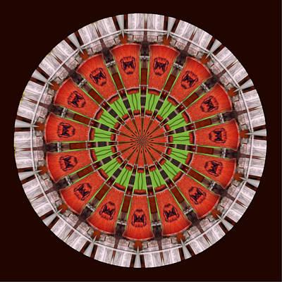 Kentucky Derby Glasses Kaleidoscope 5 Art Print