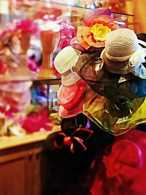 Photograph - kentucky Derby Hats by Robin Regan