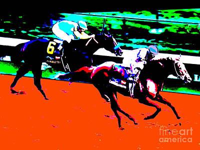 Kentucky Derby Art Print by RJ Aguilar