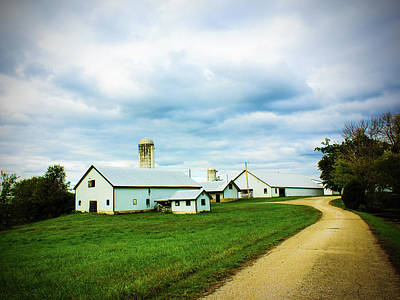 Photograph - Kentucky Farm Road by Barry Jones