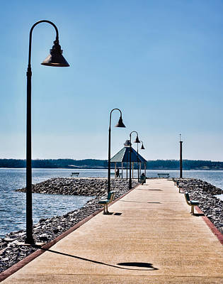 Photograph - Kentucky Lake Jetty by Greg Jackson