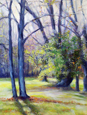 Kentucky Landscape Artist Painting - Kentucky Light by Laura Ury