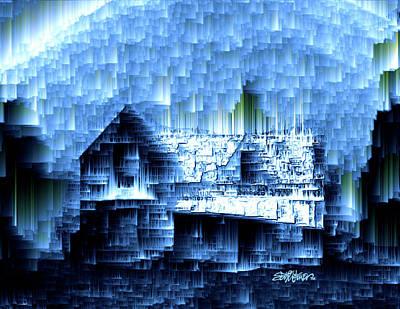 Digital Art - Kentucky Rain by Seth Weaver