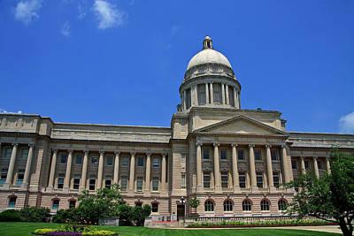 Photograph - Kentucky State Capitol by Jill Lang
