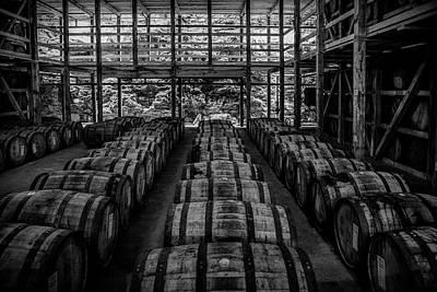 Photograph - Kentucky Whiskey Warehouse by Daniel Hagerman