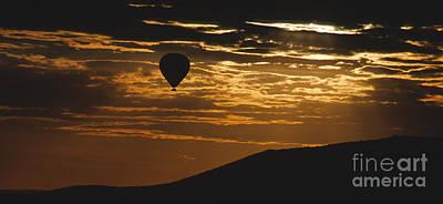 Photograph - Kenya - Sunrise Ballooning by Sandra Bronstein
