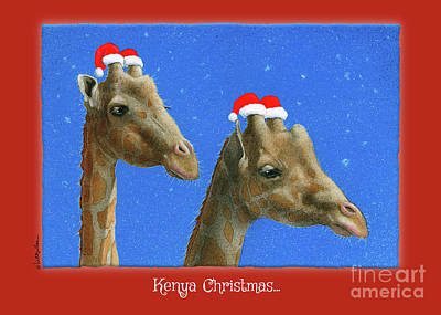 Painting - Kenya Christmas... by Will Bullas