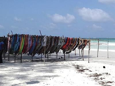Exploramum Photograph - Kenyan African Beach Colour by Exploramum Exploramum