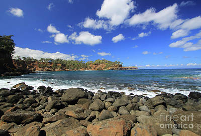Photograph - Keokea Beach  by Mary Haber