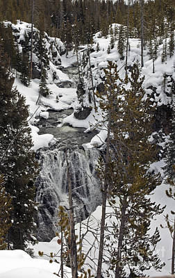 Photograph - Kepler Cascades Yellowstone by Cindy Murphy - NightVisions