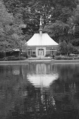 Photograph - Kerbs Boathouse Central Park by Christopher Kirby