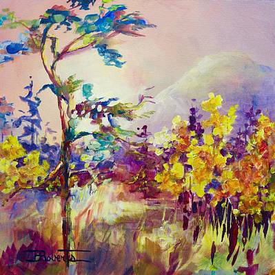 Painting - Keremeos Autumn by Bonny Roberts