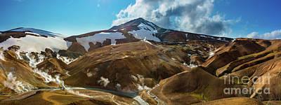 Photograph - Kerlingarfjoll Panorama by Inge Johnsson