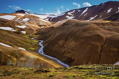 Photograph - Kerlingarfjoll Range by Inge Johnsson