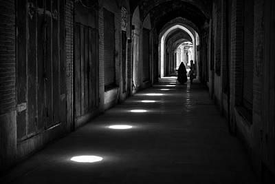 Porch Photograph - Kerman Bazaar by Farshad Davari