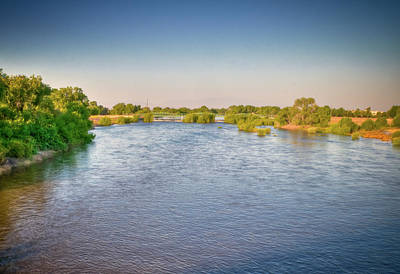 Photograph - Kern River Clear Skies by Connie Cooper-Edwards
