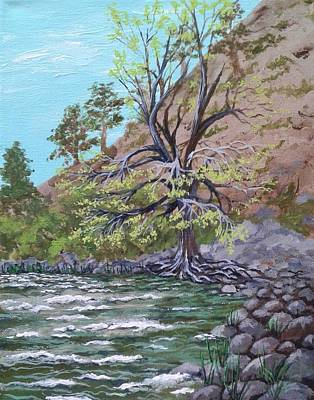Painting - Kern River Kernville California by Katherine Young-Beck