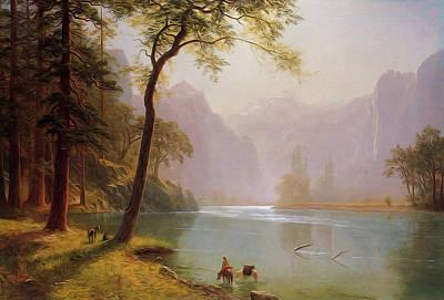 Kern S River Valley California Art Print