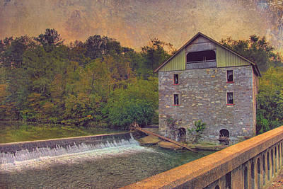 Kern's Mill Art Print