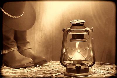 Kerosene Lamp Art Print