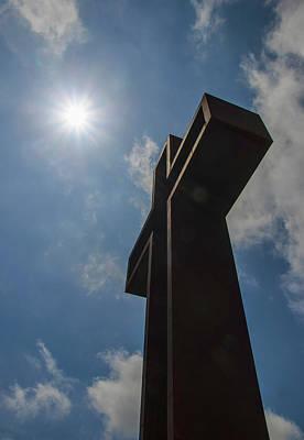 Photograph - Kerrville Empty Cross by Brian Kinney