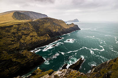 Portmagee Wall Art - Photograph - Kerry Cliffs by Ryan Moore
