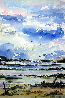 Kerry Morning Art Print by Wilfred McOstrich