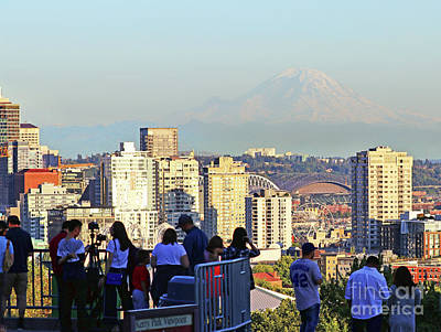 Photograph - Kerry Park Viewpoint 2071 by Jack Schultz