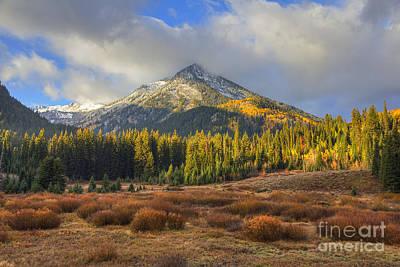 Photograph - Kessler Peak Sunrise by Spencer Baugh