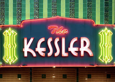 Kessler Theater 042817 Art Print