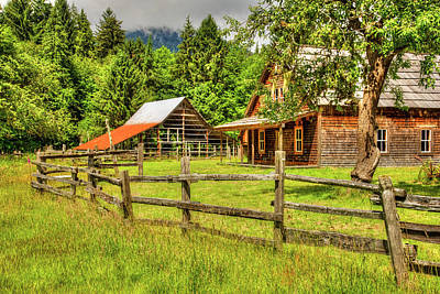 Photograph - Kestner Homestead 3 by Richard J Cassato