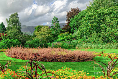 Photograph - Keswick Garden #1 by Elvis Vaughn