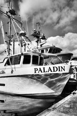 Photograph - Ketchikan Fishing Boats Bw by Mel Steinhauer