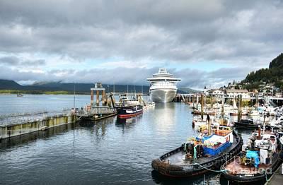 Photograph - Ketchikan Harbor 2 by Mel Steinhauer