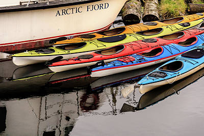 Photograph - Ketchikan Kayaks In Color by Joni Eskridge