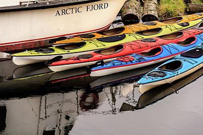 Photograph - Ketchikan Kayaks In Color by Joni Eskridge
