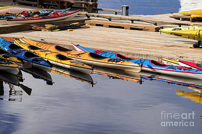 Photograph - Ketchikan Kayaks by Louise Magno