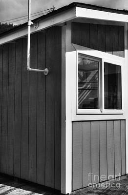Cubicle Photograph - Ketchikan Kubicle Bw by Mel Steinhauer