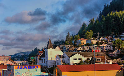 Photograph - Ketchikan Morning by Lewis Mann