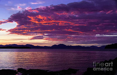 Photograph - Ketchikan Sunset by Louise Magno