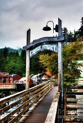 Photograph - Ketchikan's Creek Street by Mel Steinhauer