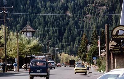 Photograph - Ketchum Idaho 1981 by John Schneider