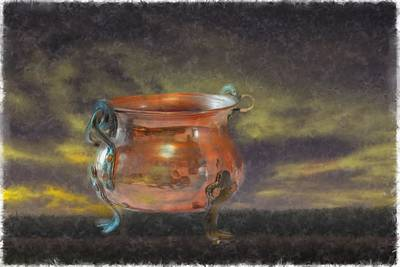 Photograph - Kettle by Leif Sohlman