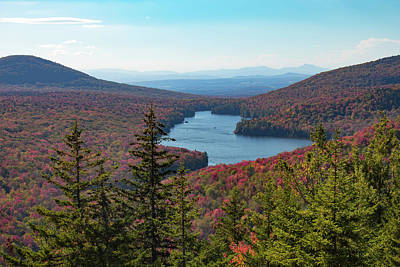 Photograph - Kettle Pond From Owls Head Mountain by Jeff Folger