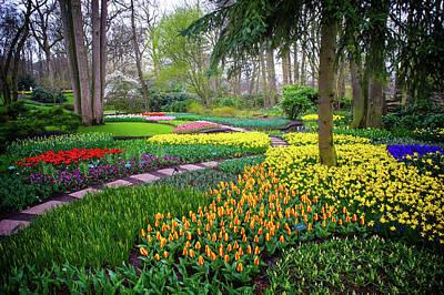 Photograph - Keukehof Botanic Garden 2015 by Jenny Rainbow