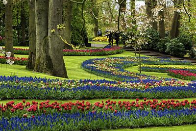 Garden Of Europe Photograph - Keukenhof Gardens - Netherlands by Jon Berghoff
