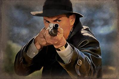 Kevin Costner Painting - Kevin Costner 1 by Sergey Lukashin