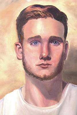 Painting - Kevin by Nila Jane Autry